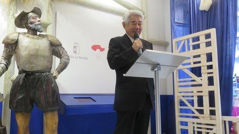"""Se presenta el libro japonés """"La Ruta de Don Quijote"""", de Osamu Takeda, profundo conocedor de España y de Cervantes"""