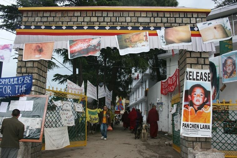 Paseando por el Tibet
