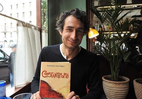 """Baptiste Touverey: """"Un escritor está siempre en la cuerda floja"""""""