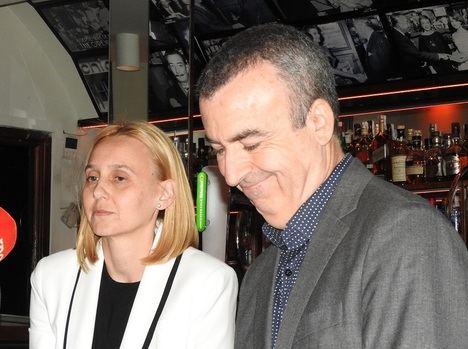Lorenzo Silva y Noemí Trujillo, una alianza que va más allá de lo matrimonial