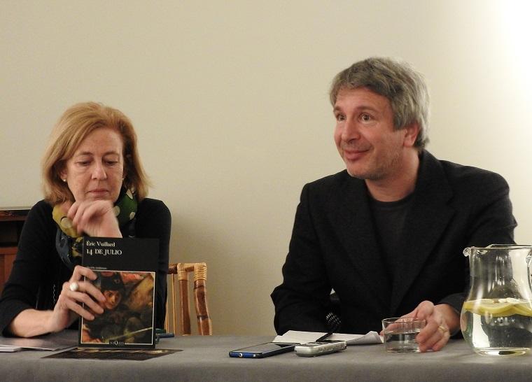 Éric Vuillard y su editora española