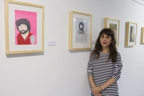 El espacio expositivo Pacífico 54 de la Diputación de Málaga acoge la muestra 'Camarón y el nuevo flamenco' de la ilustradora sevillana Irene Mala