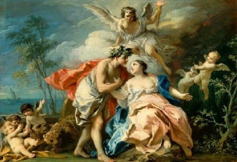 Dionisio y Ariadna
