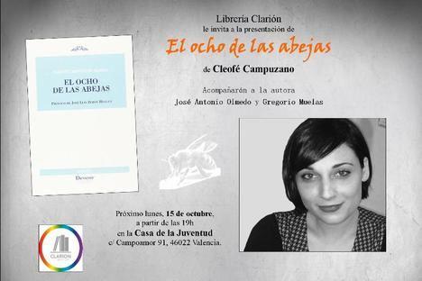 """Cleofé Campuzano presenta """"El ocho de las abejas"""" en Valencia"""
