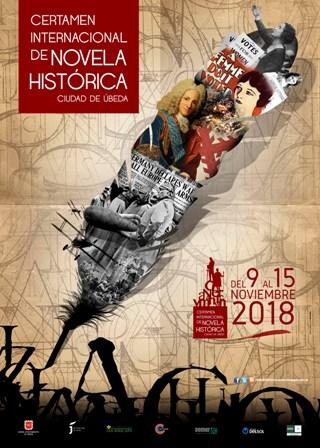 Cartel del Certamen de Novela Histórica Ciudad de Úbeda