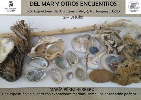 Literatura + Arte natural, una exposición única: DEL MAR Y OTROS ENCUENTROS