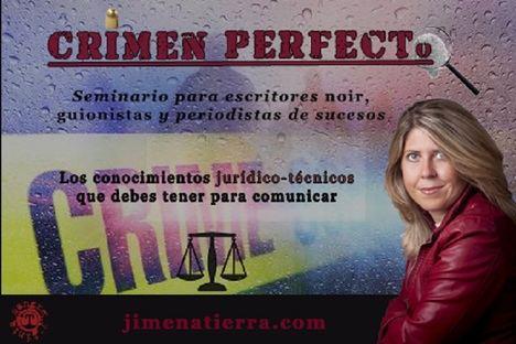Crimen Perfecto: el taller definitivo que hermana Derecho Criminal y género negro