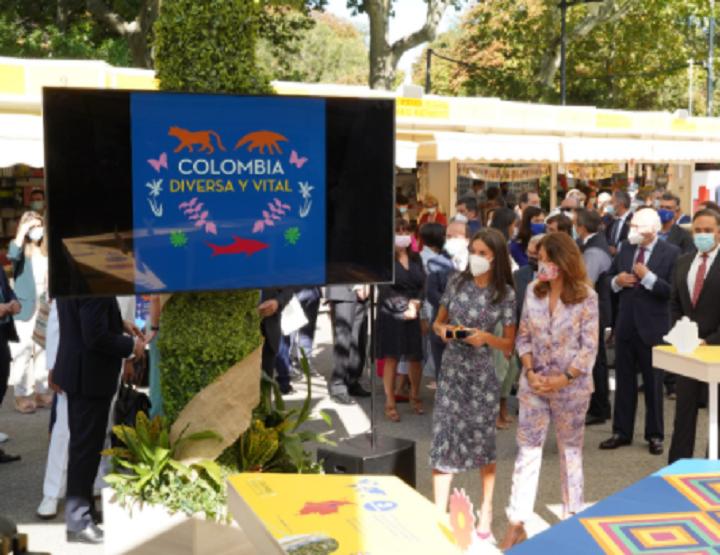 """""""Colombia Diversa y Vital"""" llega a la Feria del Libro de Madrid con una nutrida representación"""