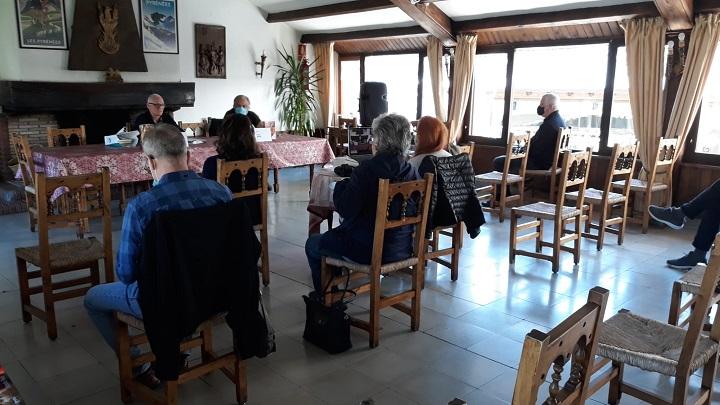 Conferencia de Gabriel Monte Vado en Black Mountain Bossòst