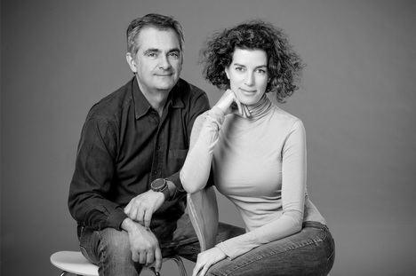 Enrique Coperías y Cristina García-Tornel