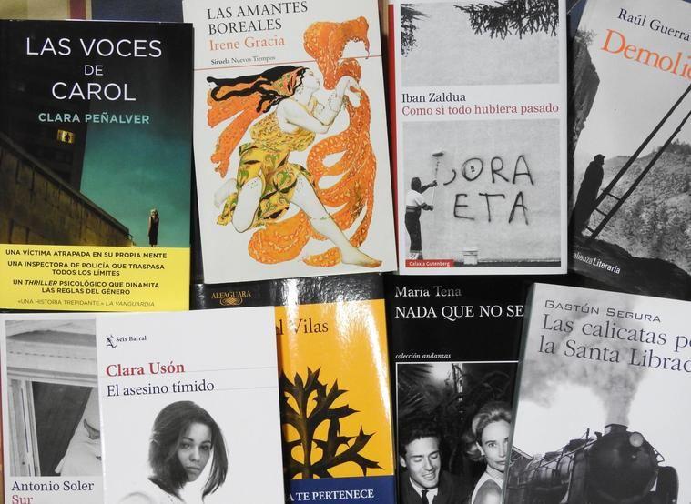 Destacados literatura española 2018