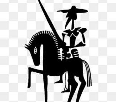 El sueño del Quijote por esos campos de Dios las aspas de los molinos hacen de ventilador