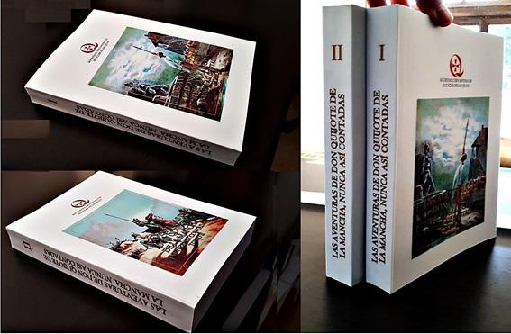 Ediición del Quijote en papel