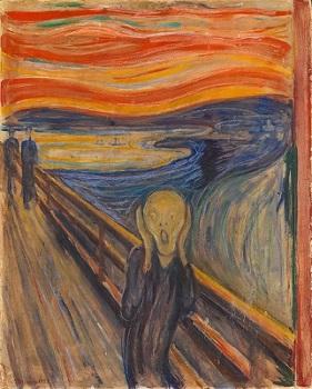 'El grito', de Edvard Munch