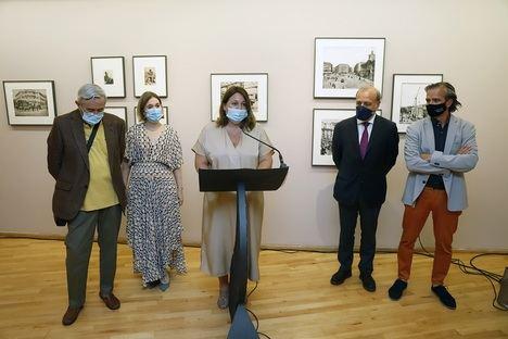 La Diputación de Málaga acoge una exposición que recorre la vida y los escenarios de Benito Pérez Galdós