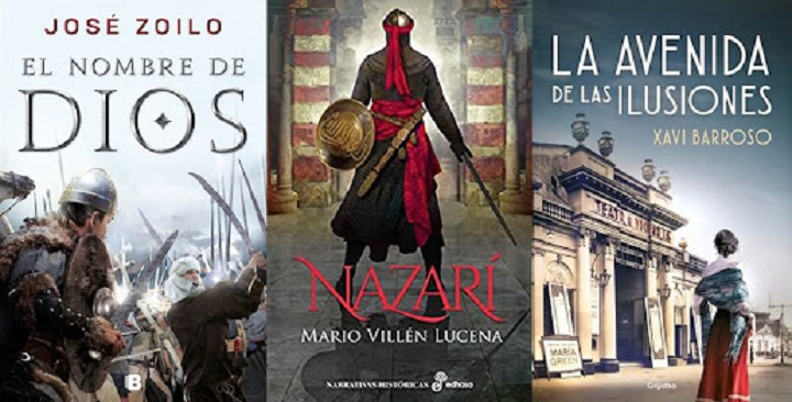 Novelas históricas finalistas del Premio Los Cerros de Úbeda 2021