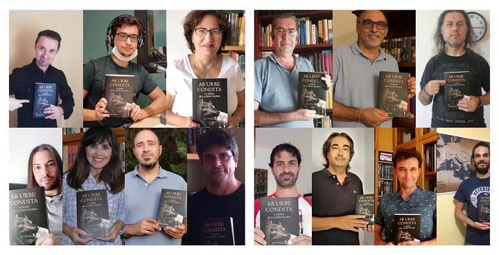 Foto de los autores de 'Ab Urbe condita'