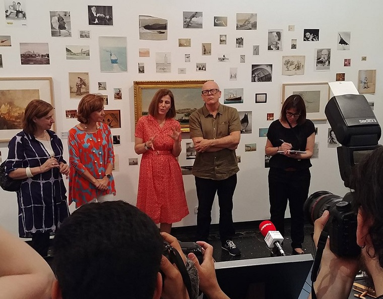 Inauguración de la exposición Patrick Pound: Fotografía y Aire
