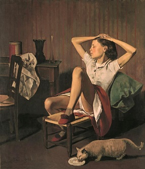 Balthus en el Museo Thyssen Bornemisza de Madrid: la incertidumbre que provocan las emociones primarias