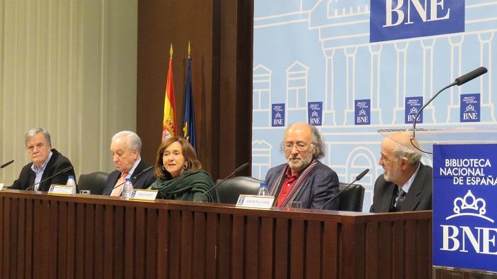 Manuel Suárez González, José Manuel Delgado de Luque, Ana Santos Aramburo, Rogelio Blanco y José María G. de la Torre