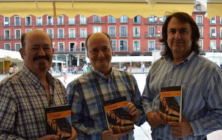 Germán Díaz Barrios, Gustavo Martín Garzo y Miguel Ángel de Rus