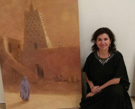 """Se inaugura la exposición: """"El río de la vida, Recuerdos del río Níger"""", de Irene López de Castro"""