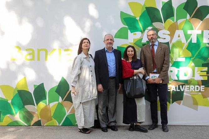 Inés Miret, Fernando Castilho, Dolores Prades y Enrique Pascual