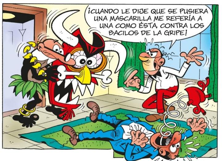 La mascarilla de Mortadelo