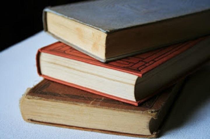 Viejos libros de novela histórica