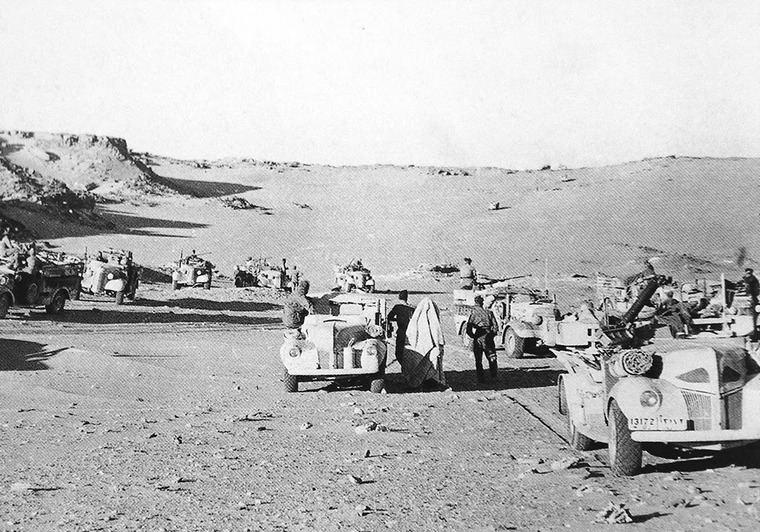 Gran Guerra en el desierto