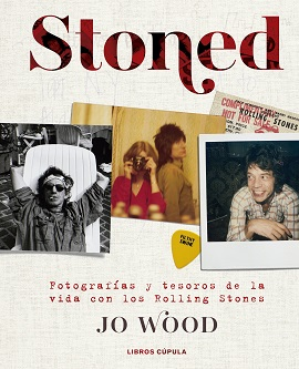 Jo Wood, mujer del stone Ronnie Wood, publica