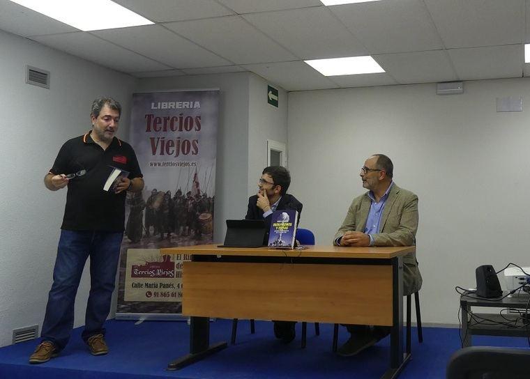 Rafael Rodrigo, Manu P. Villatoro y Pere Cardona