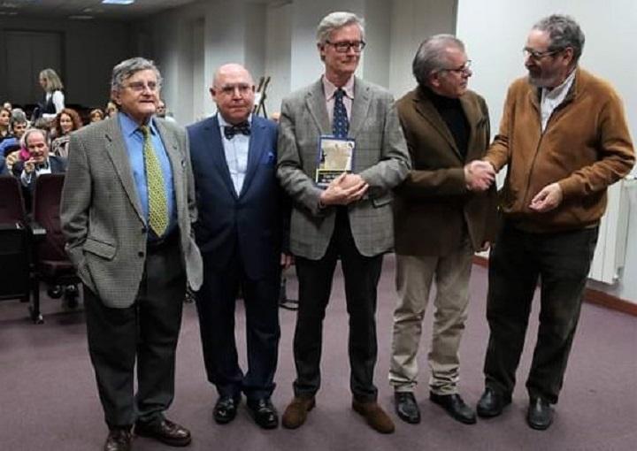 Antonio Martínez Cerezo, Fernando Gomarín, Joaquín Álvarez Barrientos, Javier Velasco Oliaga y José Tordesillas Usón
