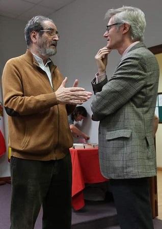 José Tordesillas Usón y Joaquín Álvarez Barrientos