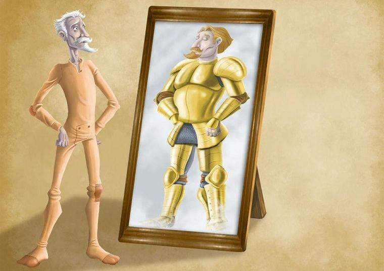Don Quijote ante el espejo