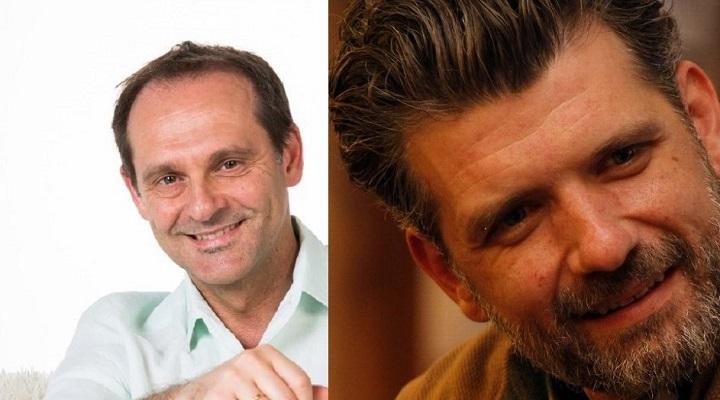 Sebastián Roa y Francisco Narla