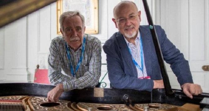 Antonio Pérez Henares y Juan Eslava Galán