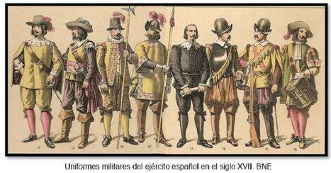 LAS PLUMAS DE LOS SOLDADOS ESPAÑOLES