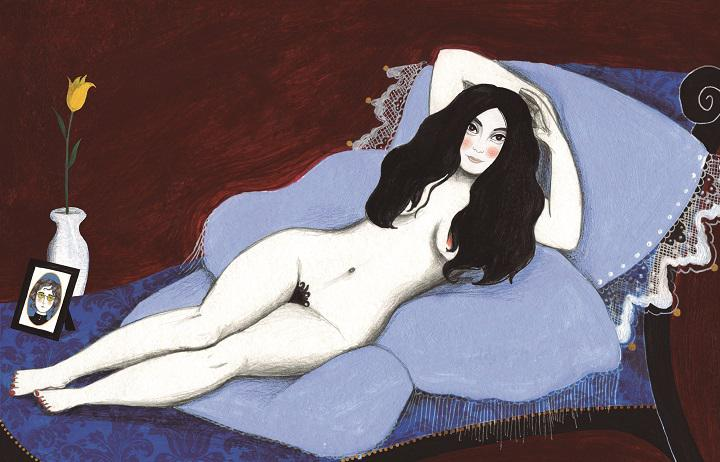 Yoko maja desnuda