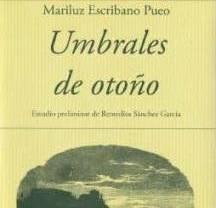 Mariluz Escribano Pueo publica el poemario
