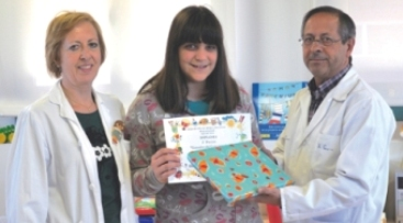 Una joven mostoleña, 2º Premio de Relato Corto de la Sociedad Española de Alergia Pediátrica