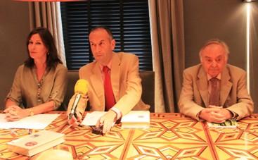 Paloma García Nieto, Francisco Javier Expósito y Joaquín Benito de Lucas