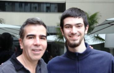Jorge Franco y Felipe Velasco