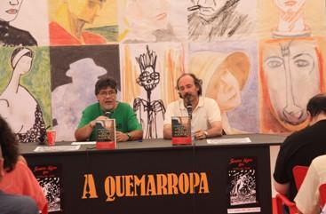 Luis Sepúlveda y Alfonso Mateo-Sagasta