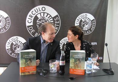Javier Marías y Pilar Reyes