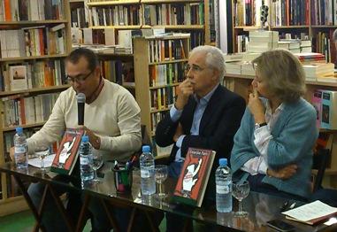 Alberto Pertejo-Barrena, Jon Lauka y Pilar Cernuda
