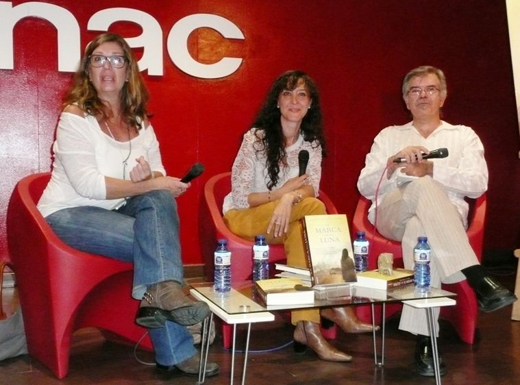 Blanca Rosa Roca, Amelia Noguera y Javier Velasco