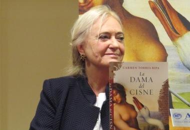 """Presentación de la novela """"La dama del cisne"""", de Carmen Torres Ripa"""