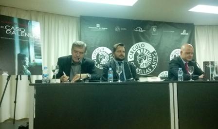 Javier Velasco Oliaga, David Felipe Arranz y Alberto Curiel