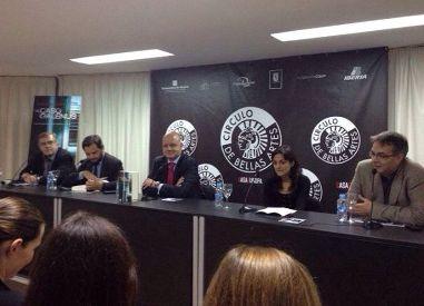 Javier Velasco Oliaga, David Felipe Arranz, Alberto Curiel, Paloma Fidalgo y Miguel Ángel Matellanes